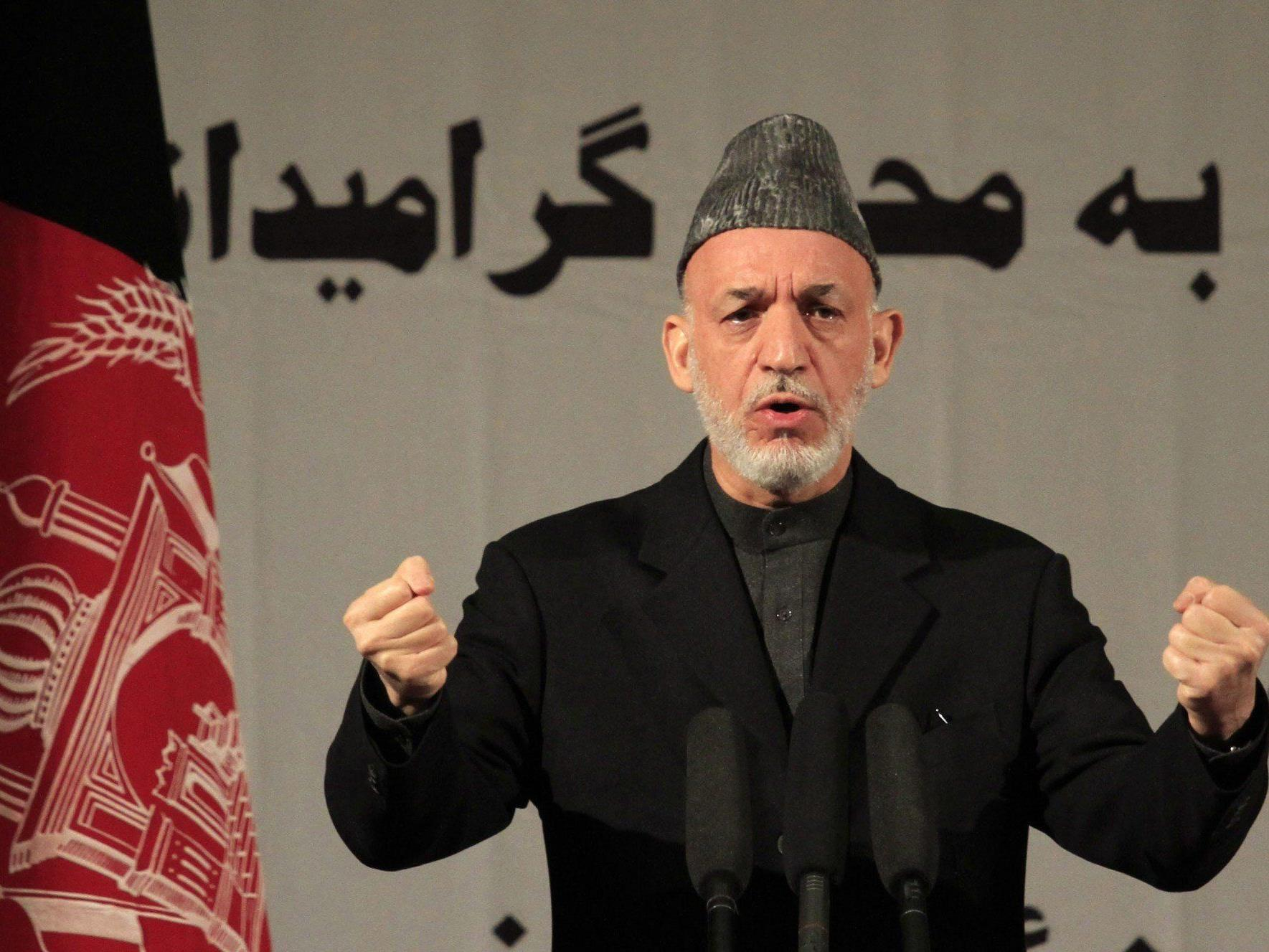 Gemeinsame Pressekonferenz in Kabul mit US-Verteidigungsminister Hagel abgesagt.
