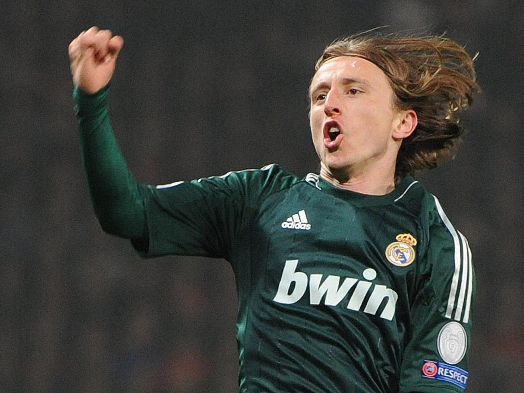 Luka Modric hatte nach seinem Treffer zum 1:1-Ausgleich allen Grund zum Jubeln.