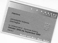 """Das maximo-ticket kann im Gemeindeamt für einen Euro pro Tag """"ausgeliehen"""" werden"""