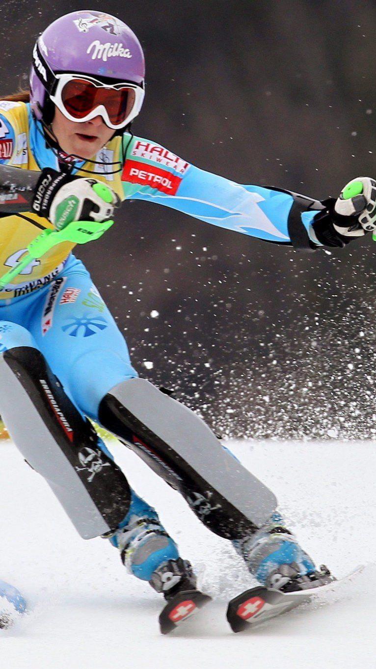 Tina Maze ließ der Konkurrenz keine Chance, Nicole Hosp landete als beste Österreicherin auf Platz 9.