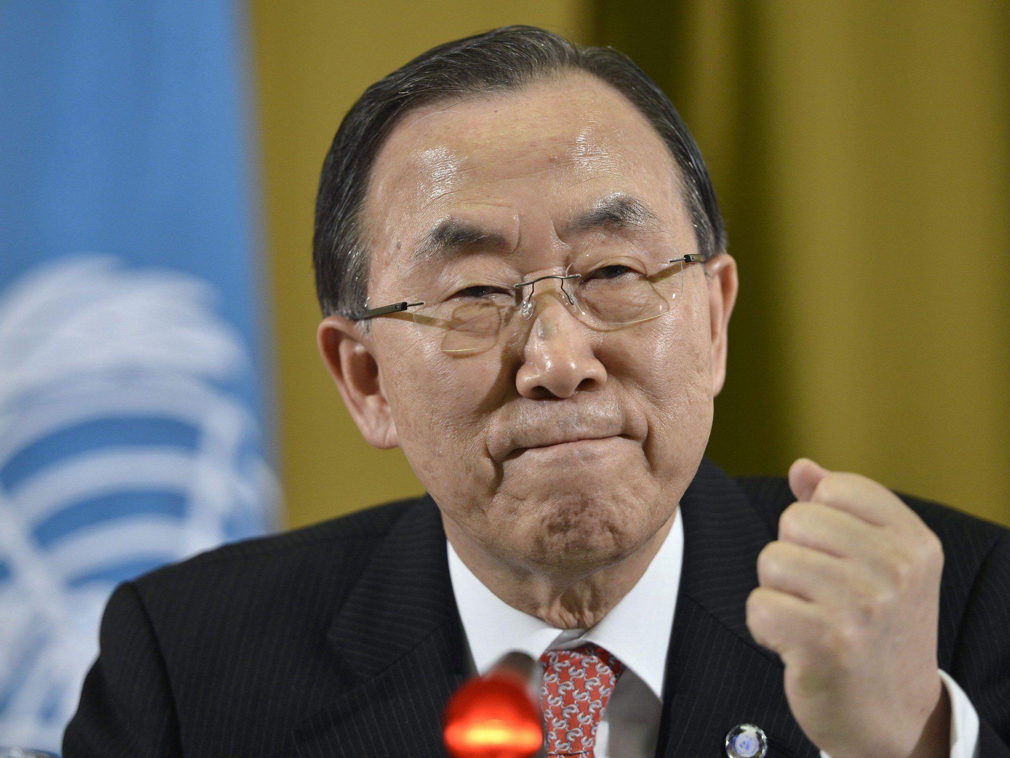 Mit Sanktionen belegte Staaten Iran, Syrien und Nordkorea lehnten Entwurf für Vertrag ab.