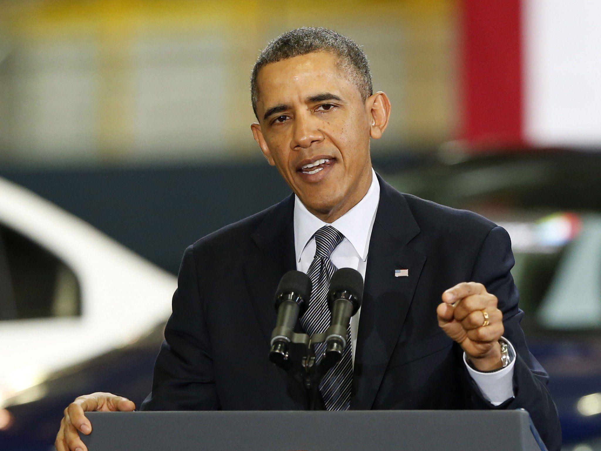 US-Präsident will zuhören und nicht drängen oder tadeln.