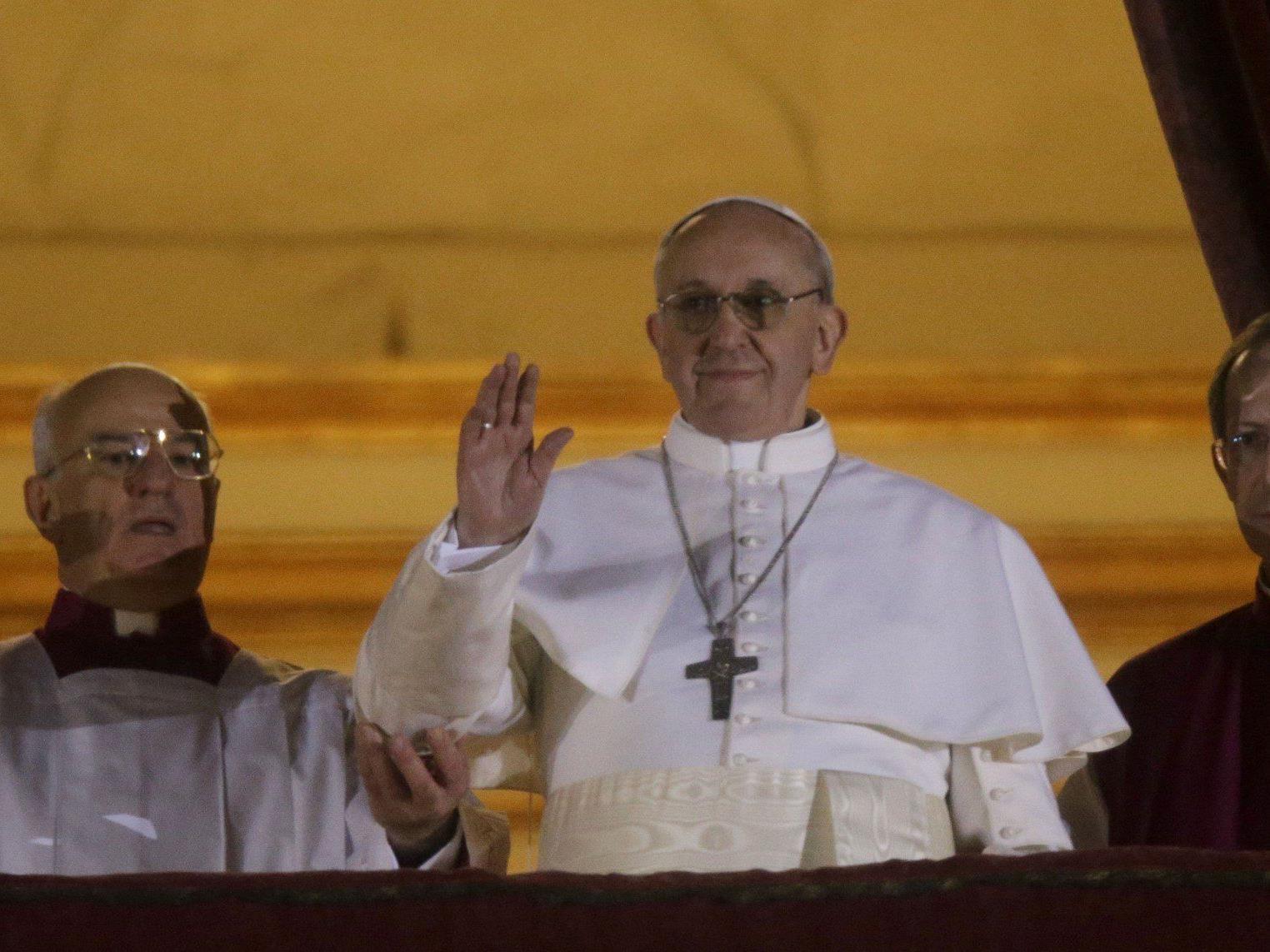 Franziskus I.: Noch nie in der Kirchengeschichte war ein Jesuit katholisches Kirchenoberhaupt