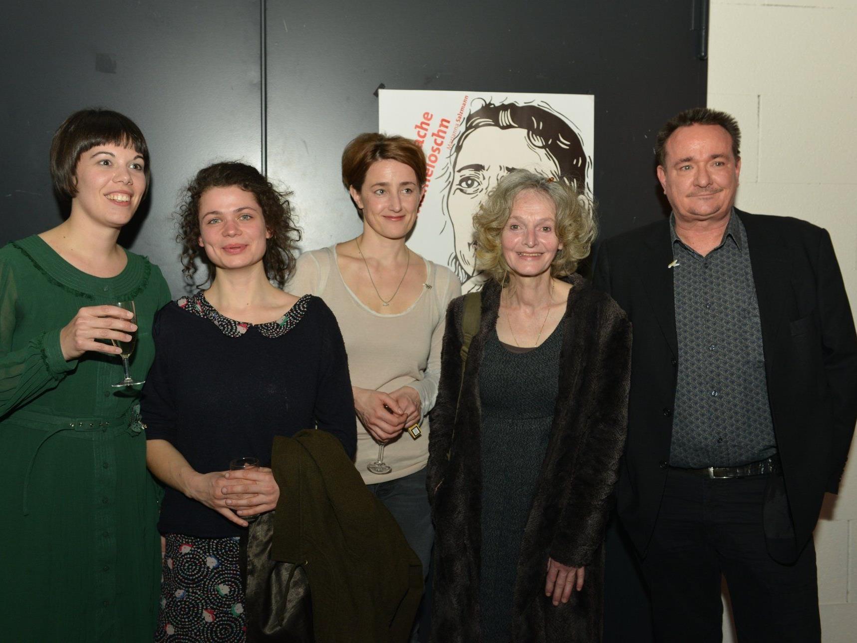 2) Barbara Schulte, Maria Perlick, Barbara Gassner, Juliane Gruner, Stefan Pfeistlinger