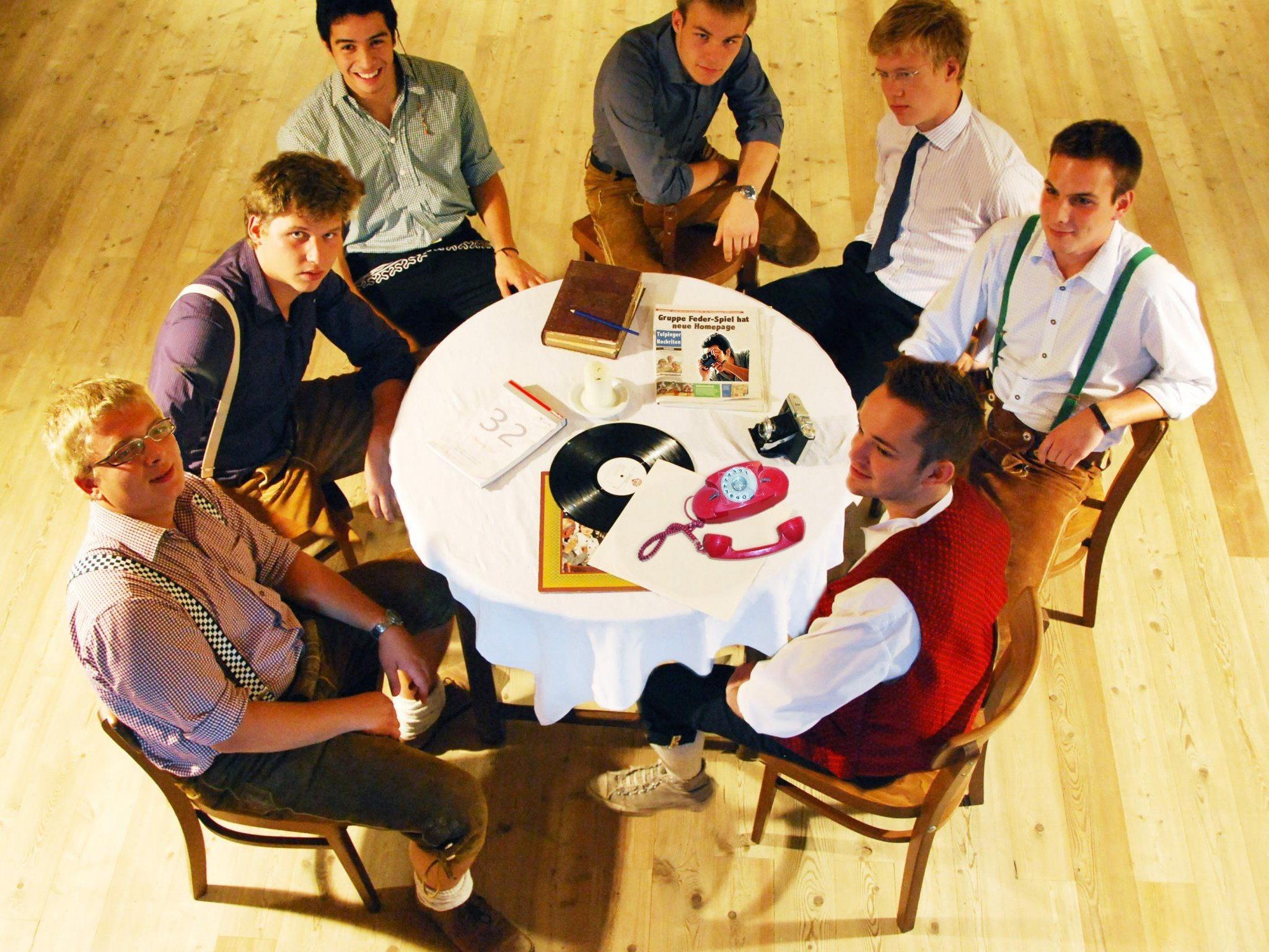 Für Abwechslung ist auch bei Seelax 2013 garantiert. Auf dem Bild die Blasmusikgruppe Federspiel.