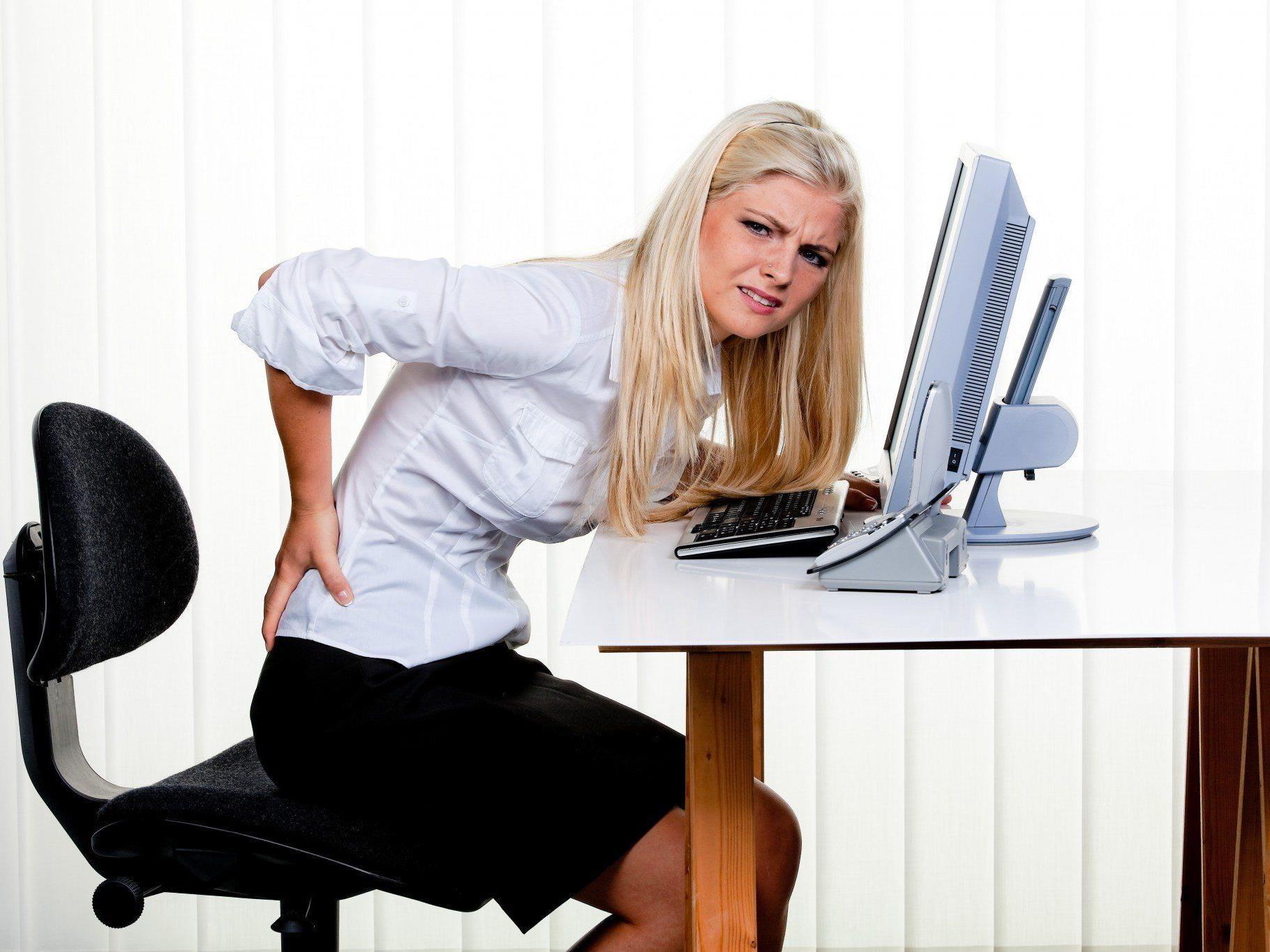 Ein Viertel der Arbeitnehmer klagt über Rückenschmerzen, beinahe noch einmal so viel über Muskelschmerzen