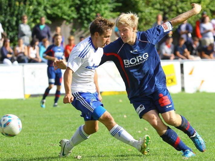 Der FC Nenzing mit Torjäger Rochus Schallert gewann in Dalaas mit 4:0