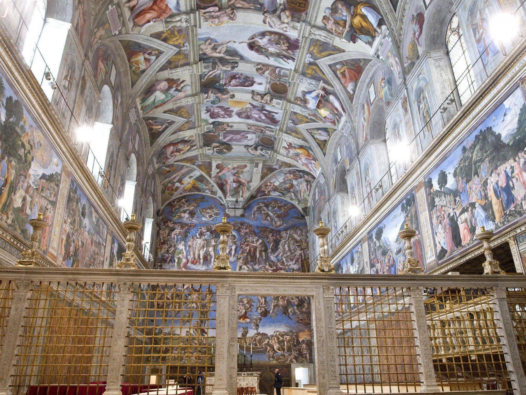 Versammlung der Kardinäle tritt seit 1878 in der Sixtinischen Kapelle zusammen.