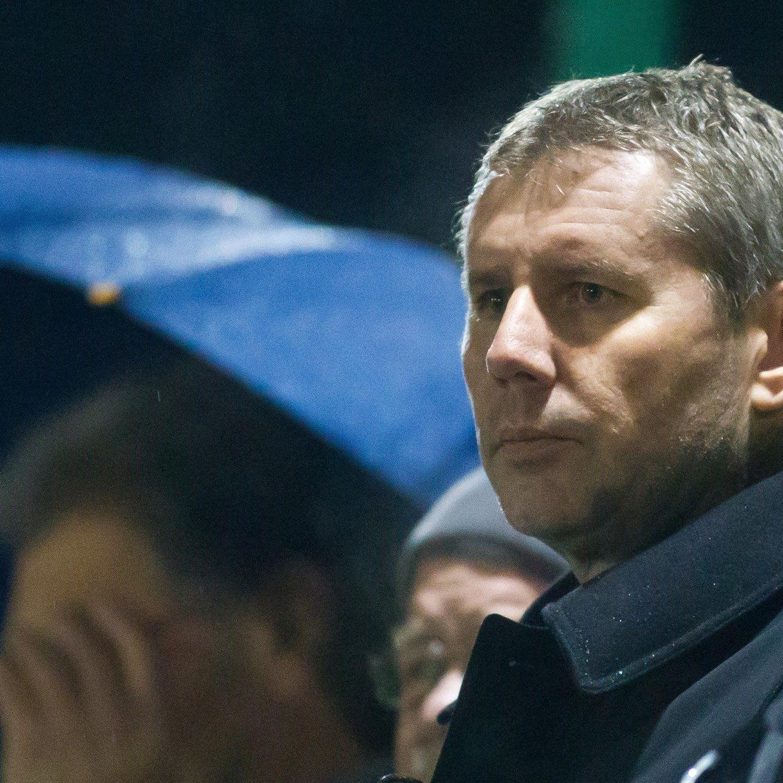 Dieter Sperger spricht von 850.000 Euro Schulden beim FC Lustenau, für 600.000 hafte er persönlich.