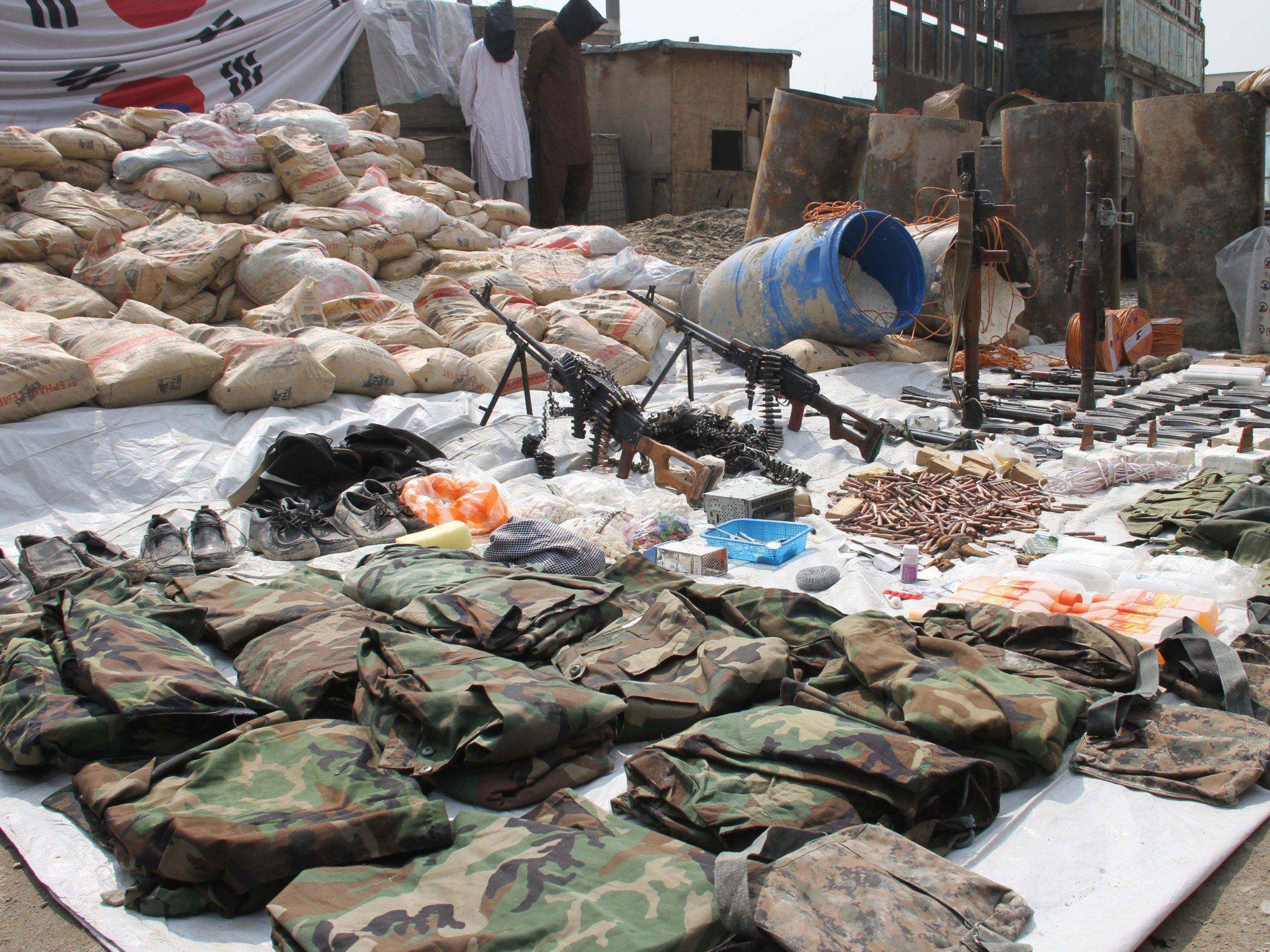 Offenbar schweren Terroranschlag in der afghanischen Hauptstadt vereitelt.