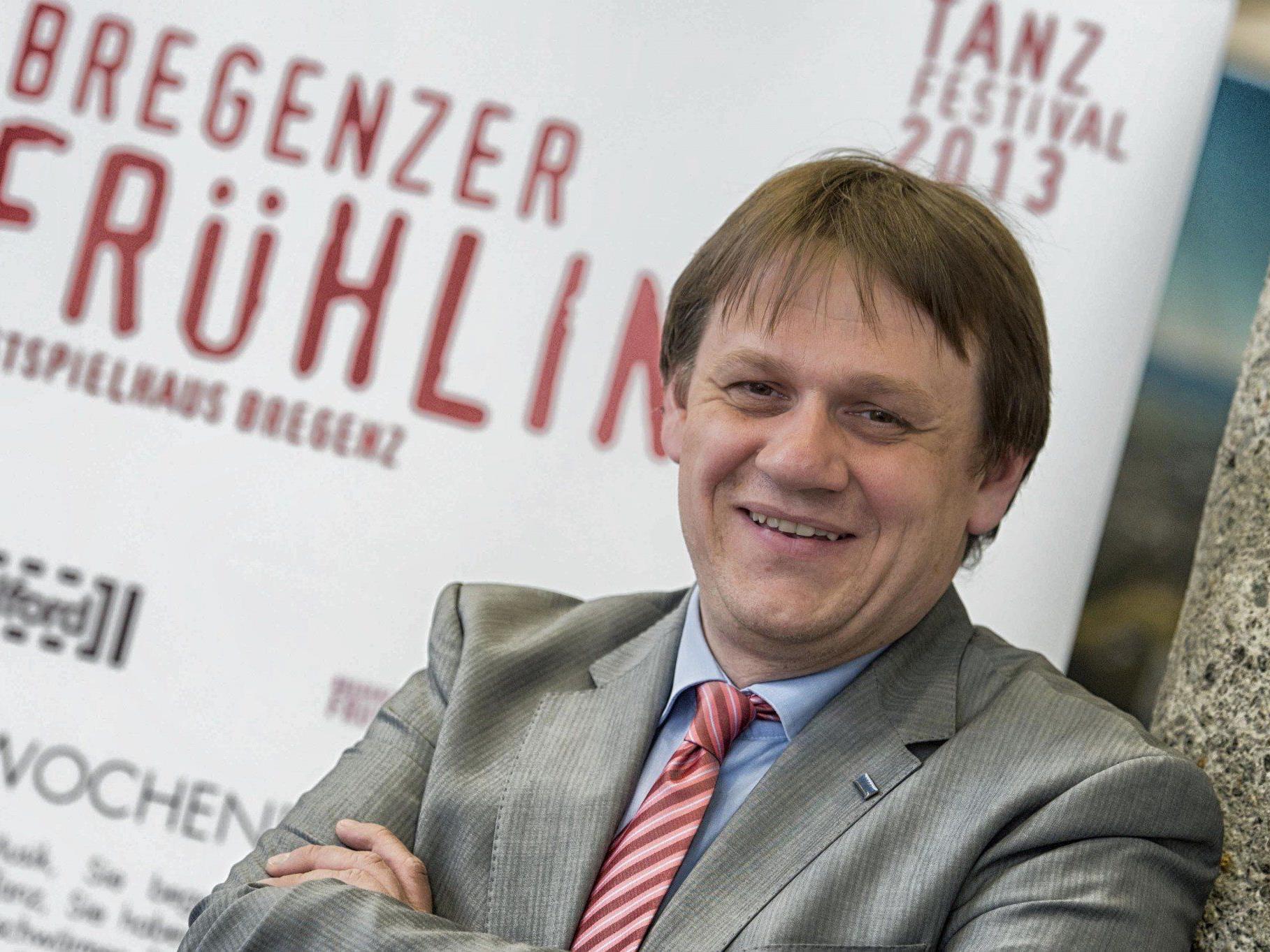 """""""Bregenz ist ein Bühne, die bespielt werden muss."""" - Christoph Thoma, Neo-Chef von Bregenz Tourismus."""