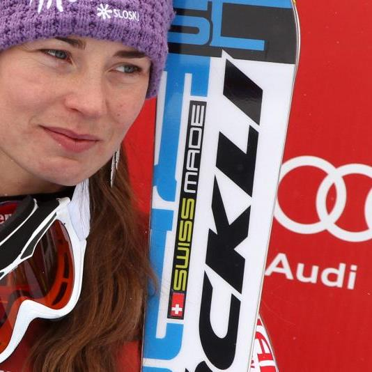 Tina Maze könnte sich heute in die Geschichtsbücher des Skisports eintragen