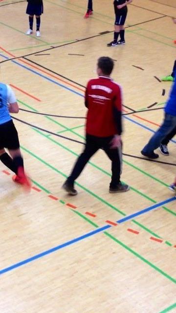 Tumulte und Ausschreitungen beim Rankler Hallenfußballturnier.