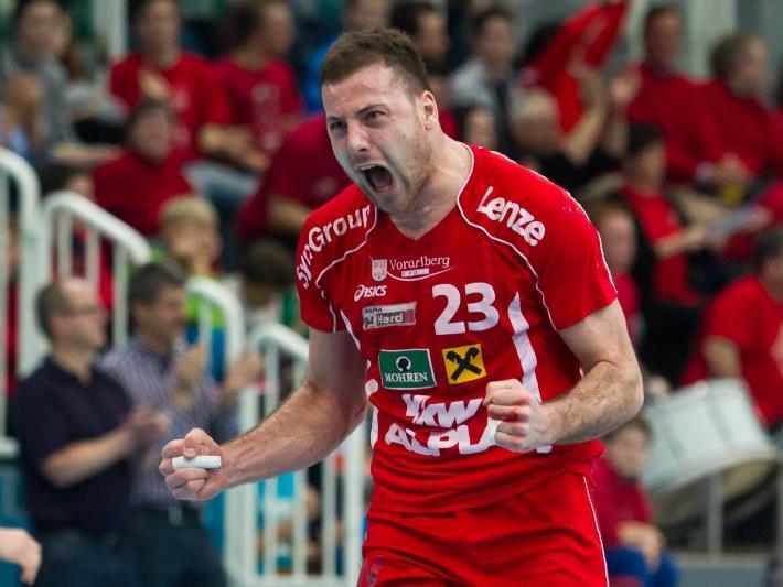 Knapper 26:25-Heimsieg für den Meister HC Hard gegen den Serienmeister Bregenz.