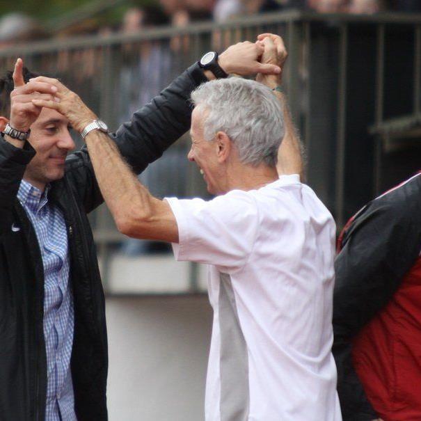 Bregenz-Erfolgscoach Mladen Posavec will im Frühjahr auch wieder jubeln.