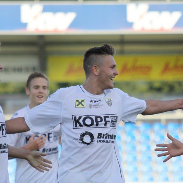 Altach Amateure-Kicker Fabian Flatz will mit seinen Kollegen gegen Austria Salzburg gewinnen.