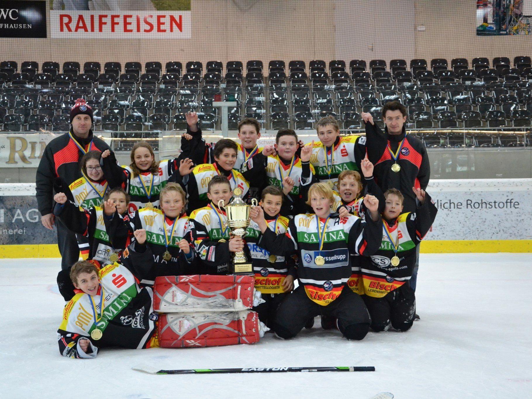 VEU U13 gewinnt das Turnier in Schaffhausen
