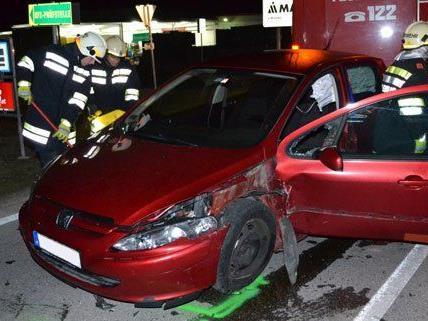 Gleich zwei Unfälle passierten am Freitag auf der B26.