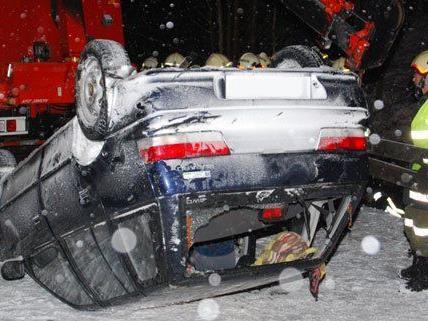 Allein im Bezirk Neunkirchen gab es fünf Unfälle.