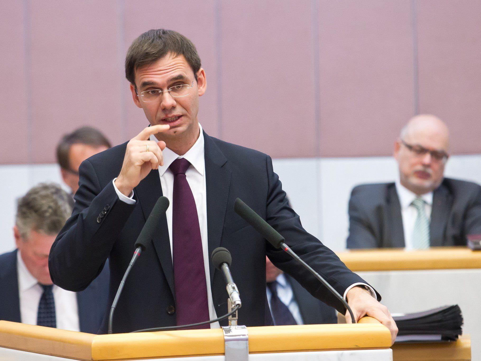 """LH Markus Wallner sieht """"das Ende der Fahnenstange erreicht""""."""