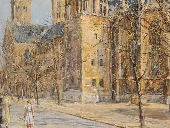 Hitler hatte das Gemälde des Spätimpressionisten Karl Walther 1939 für 3.500 Reichsmark gekauft.