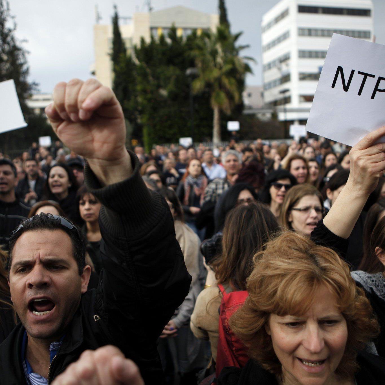 Zyperns Kreditinstitute werden seit Tagen auf Wiedereröffnung vorbereitet.