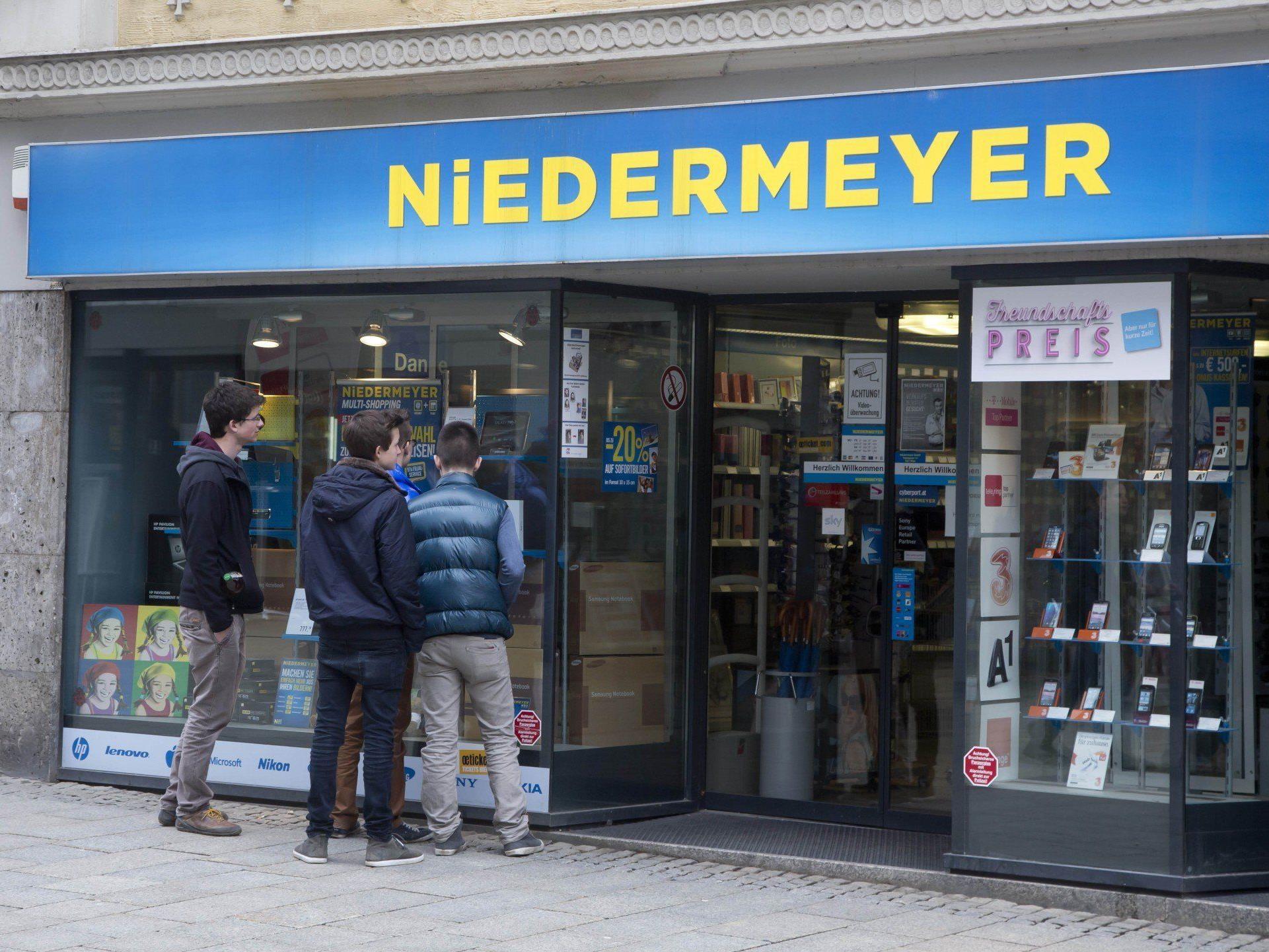 Die Niedermeyer-Filiale in Bregenz: Droht das Aus?