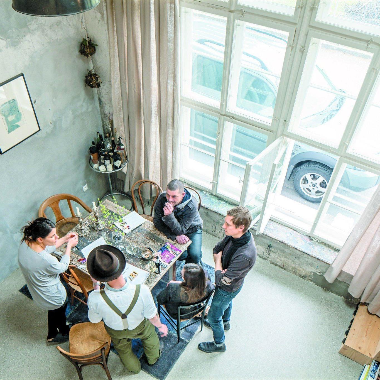 """Jan Lucas Härle (Wirt Restaurant Freigeist): """"Hier haben sich ähnliche Charaktere gefunden. Das Zusammenleben funktioniert ausgezeichnet."""""""