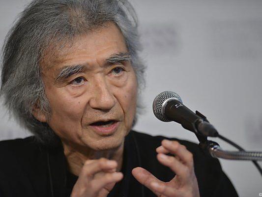 Ozawa bald wieder am Dirigentenpult