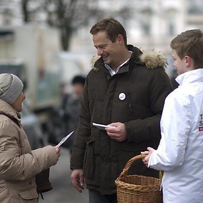 Otto Konrad betrieb bereits Stronach-Wahlwerbung