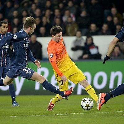Oberschenkelverletzung zwingt Messi zur Pause