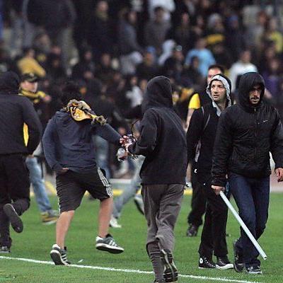 Frustrierte Fans wegen möglichem Abstieg