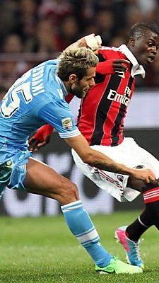 Umkämpftes Spitzenspiel in der Serie A