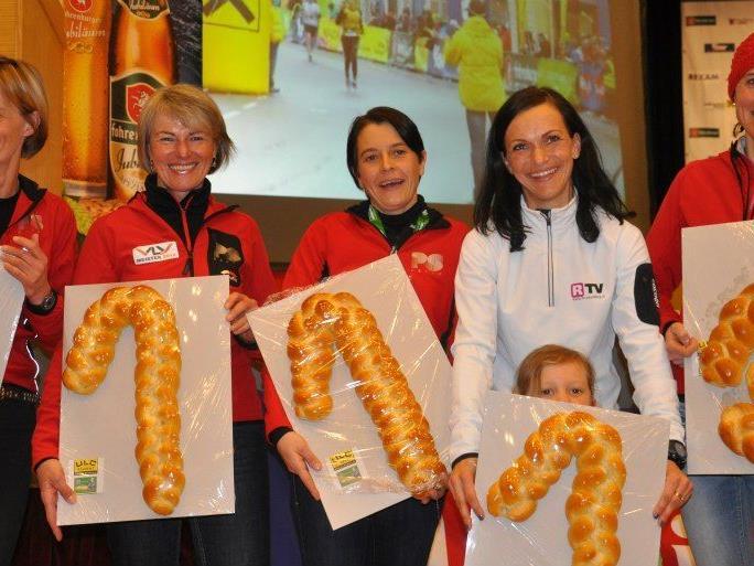 Sandra Urach holte sich den Landesmeistertitel im Halbmarathon.