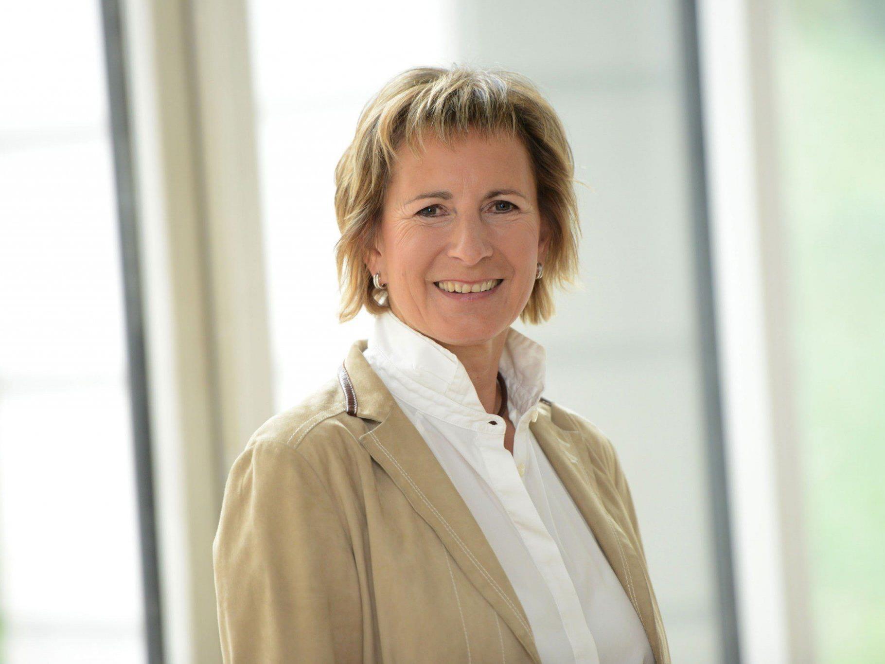 Landtagspräsidentin Gabriele Nußbaumer.
