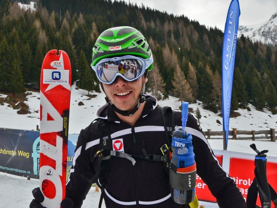 Daniel Zaugg wurde Staatsmeister im Skibergsteigen der Junioren