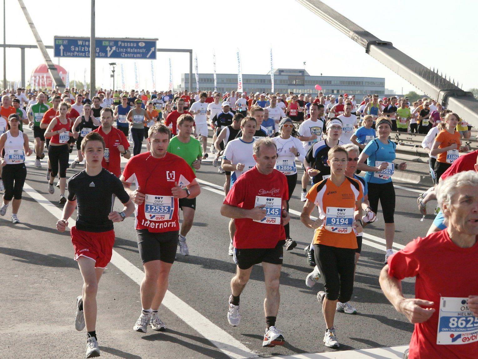 Am 21. April 2013 findet der Marathon in Linz statt. Wir haben alle Sperren im Überblick.