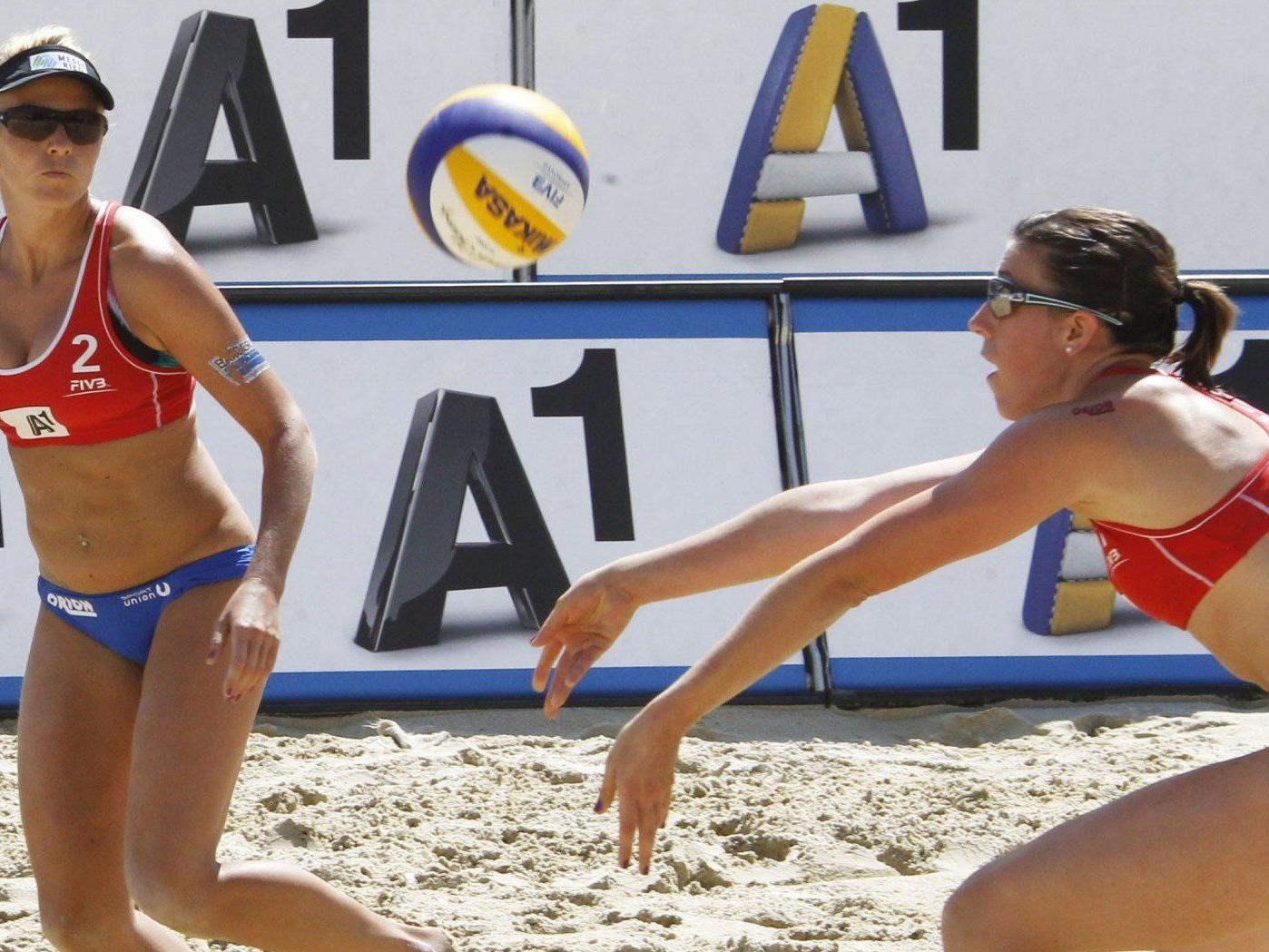 A1 sponsert die Beach Volleyball-EM 2013 in Klagenfurt.