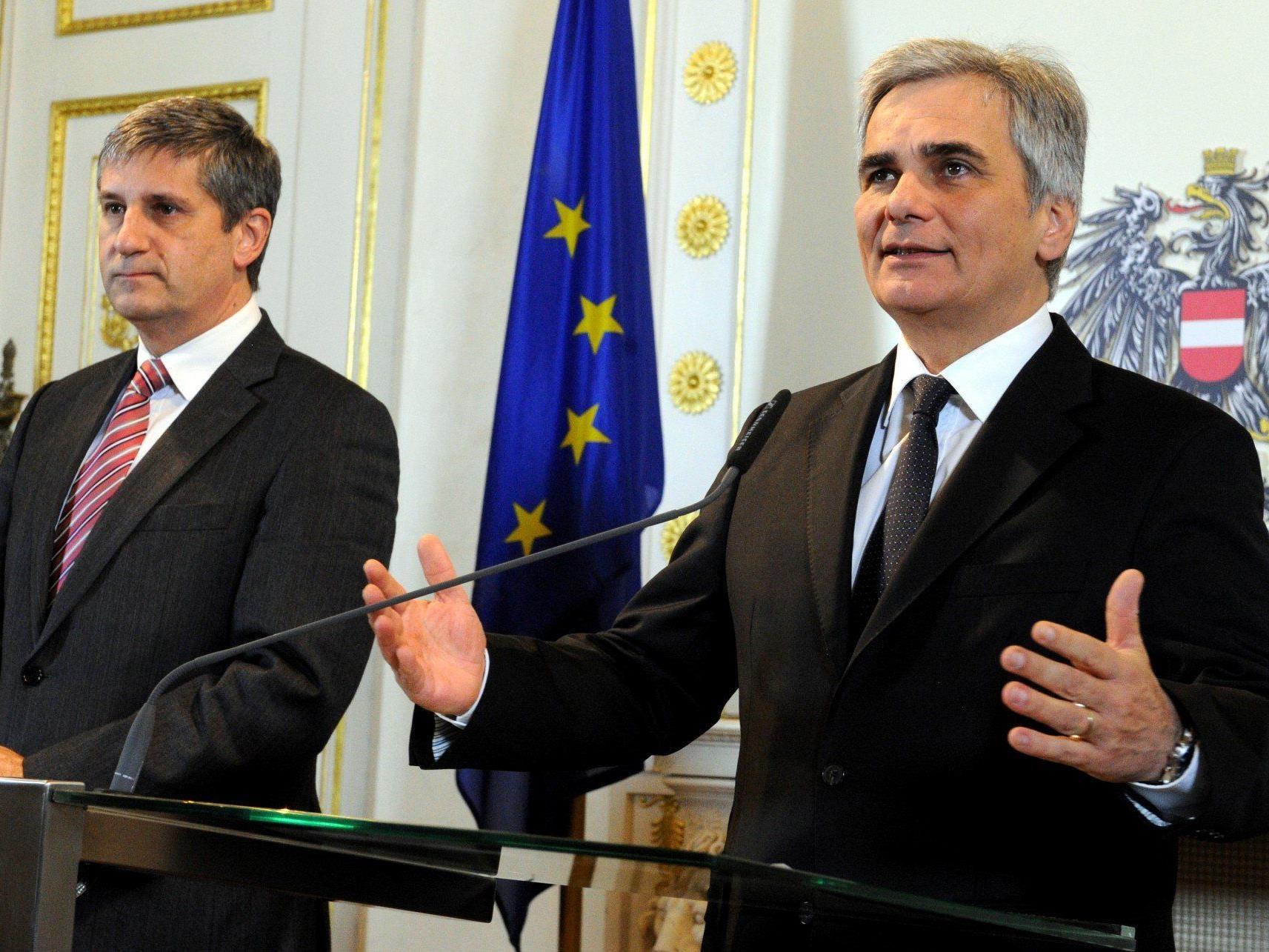 Auch Koalitionspartner ÖVP sei verhandlungsbereit.