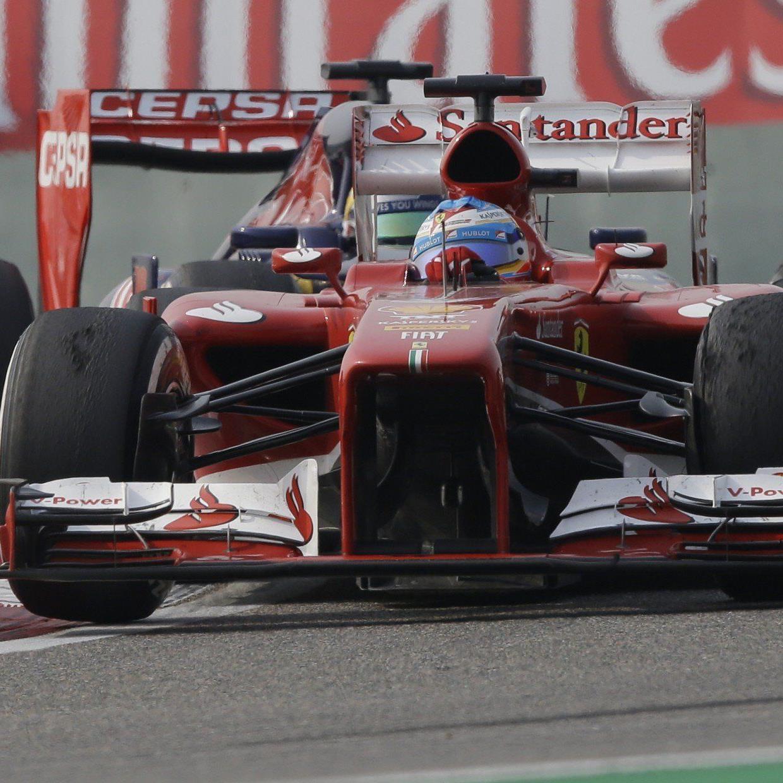 Erster GP-Sieg für Spanier seit Juli 2012 - Vettel nach Reifenpoker weiterhin WM-Leader.