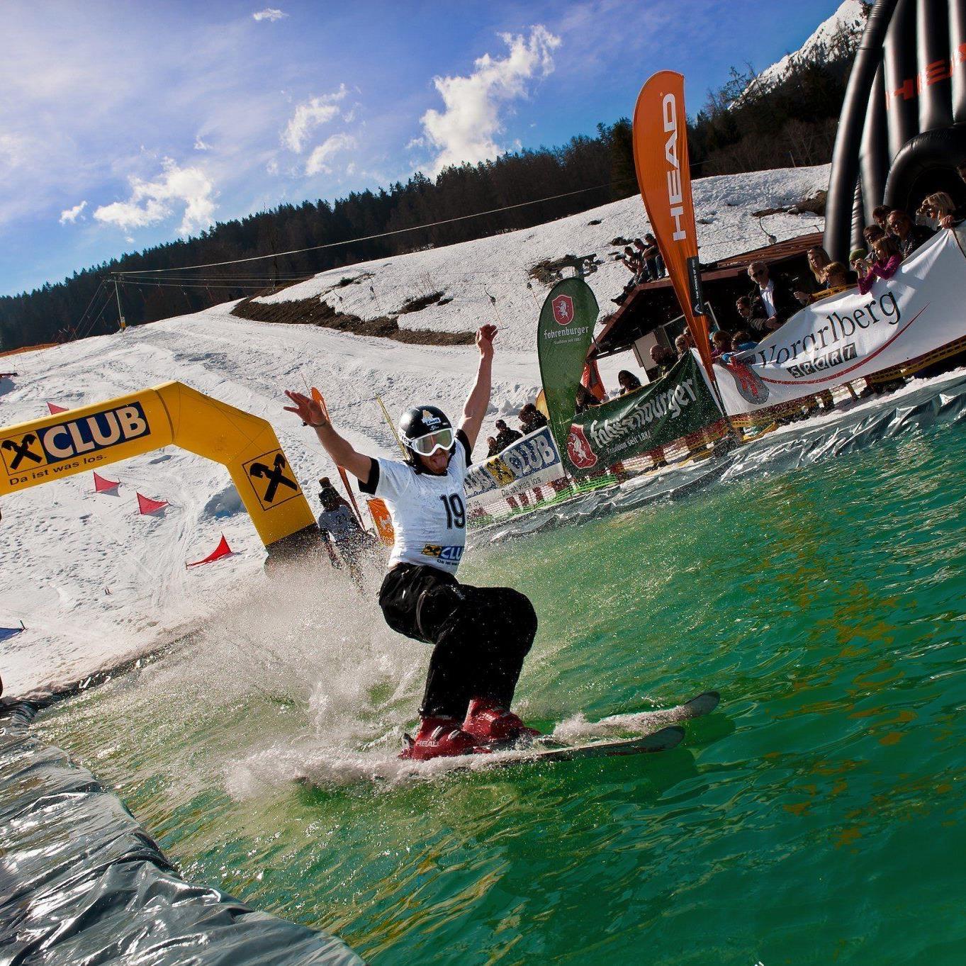 Das Finale der King of the Water-Tour gibt es am Sonntag auf der Tschengla zu bewundern.