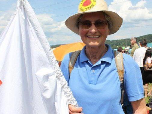 Unermüdlich im Einsatz gegen die gefährliche Atomkraft: Hildegard Breiner.