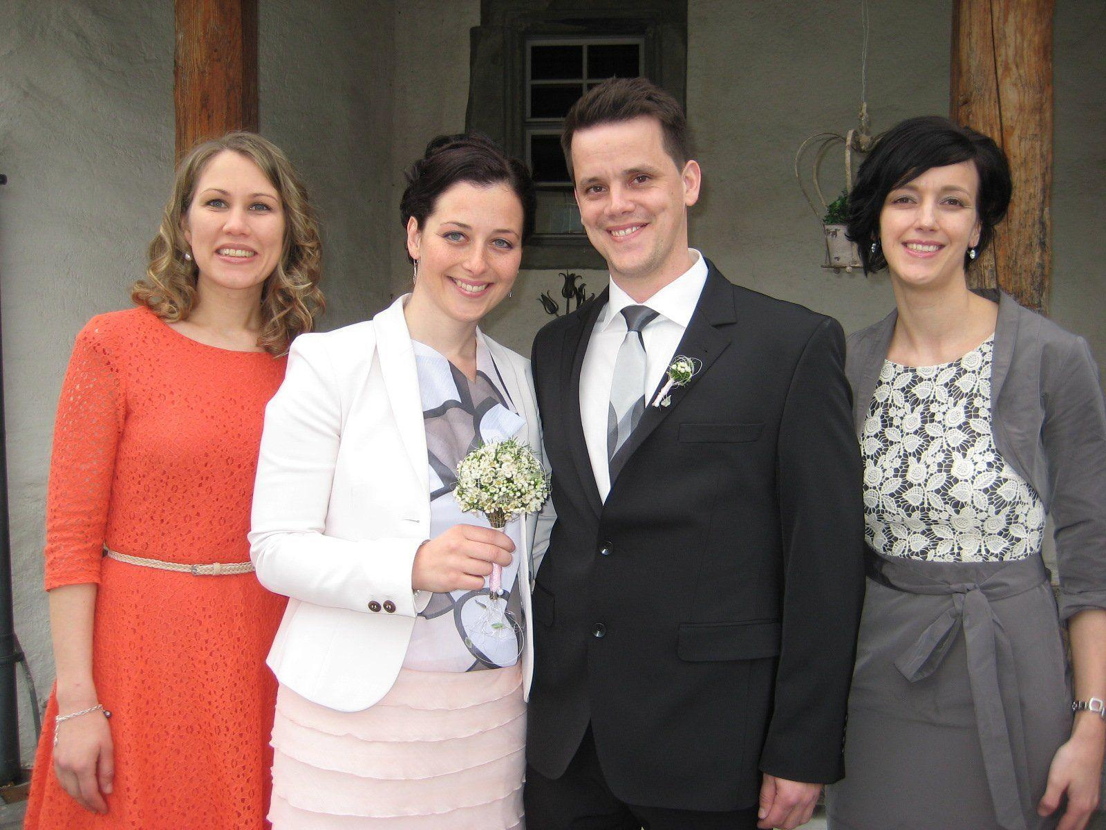 Cornelia Ursella und Bernd Buchhart haben geheiratet.