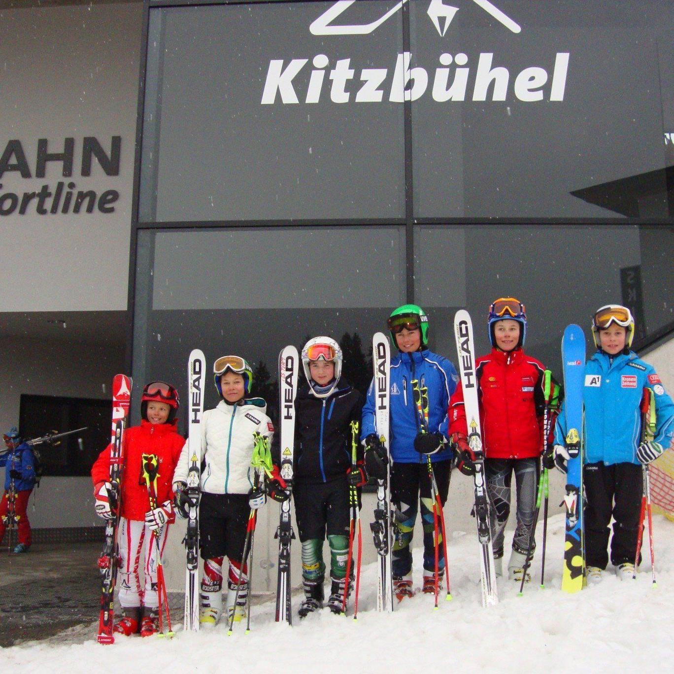 Die sechs Vorarlberger waren in Kitzbühel mit dabei.