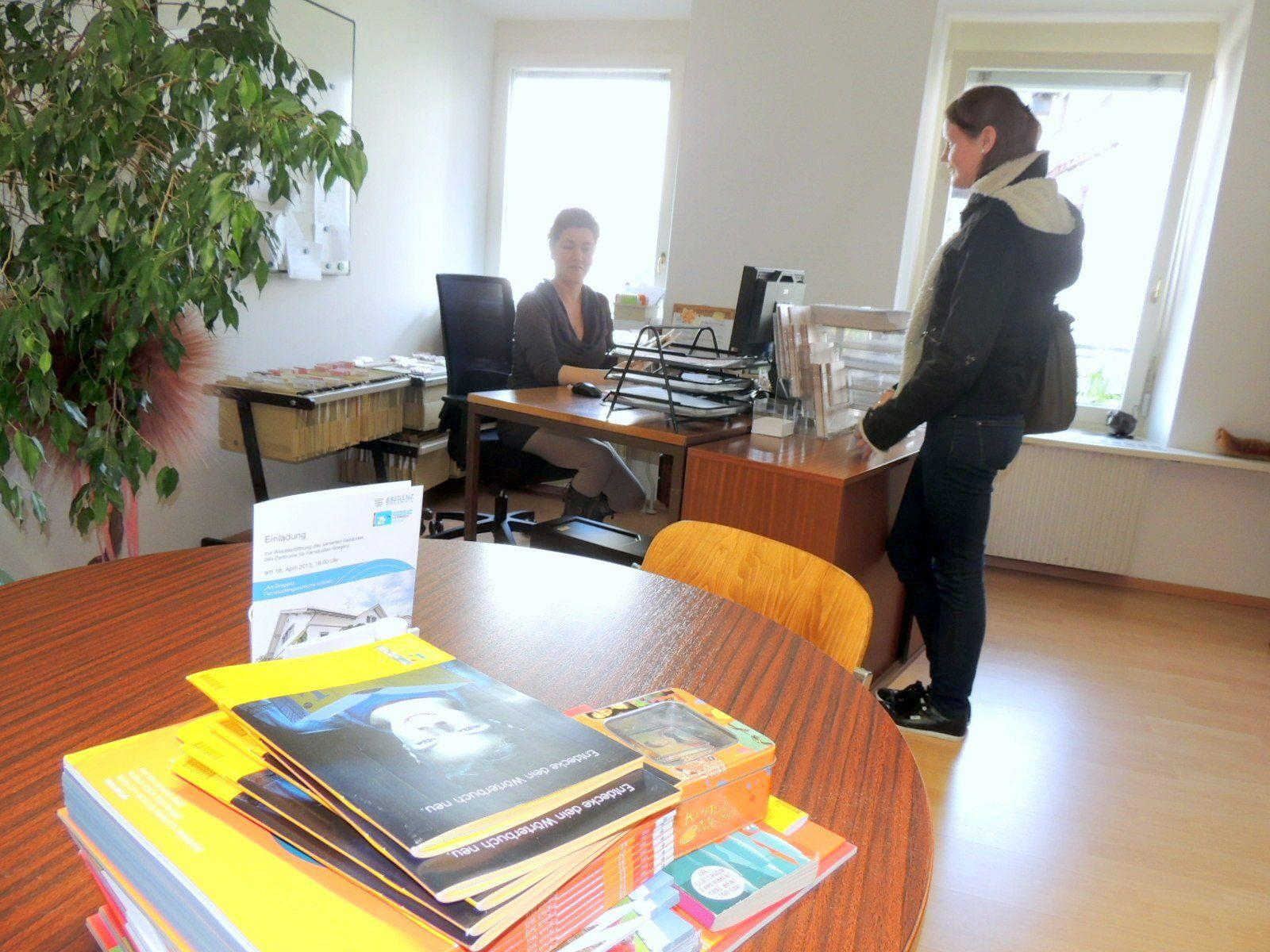 Wohnliches Ambiente in neuen Büros