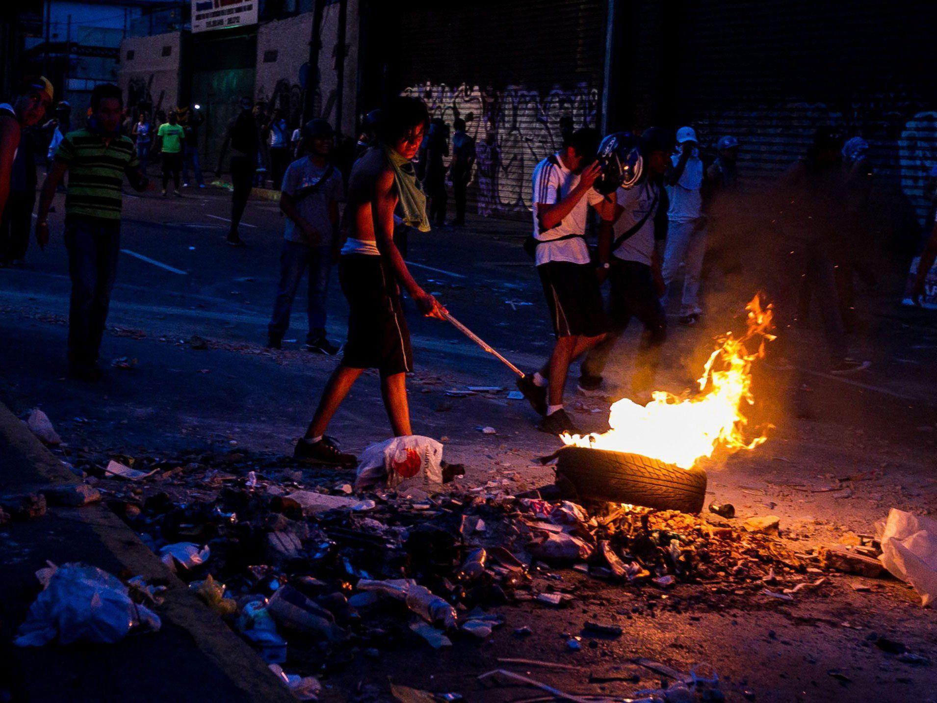 Weitere Demonstrationen gegen Wahlsieg Maduros für Dienstag und Mittwoch angekündigt.