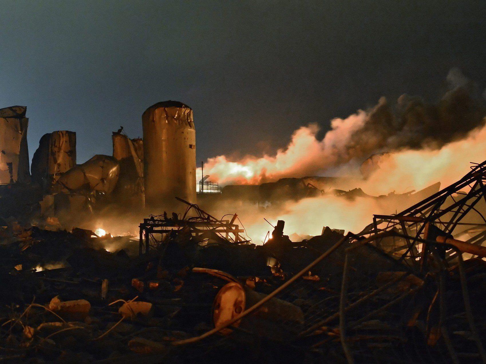 Explosion in Düngerfabrik in Texas: Bis zu 80 Häuser zerstört.