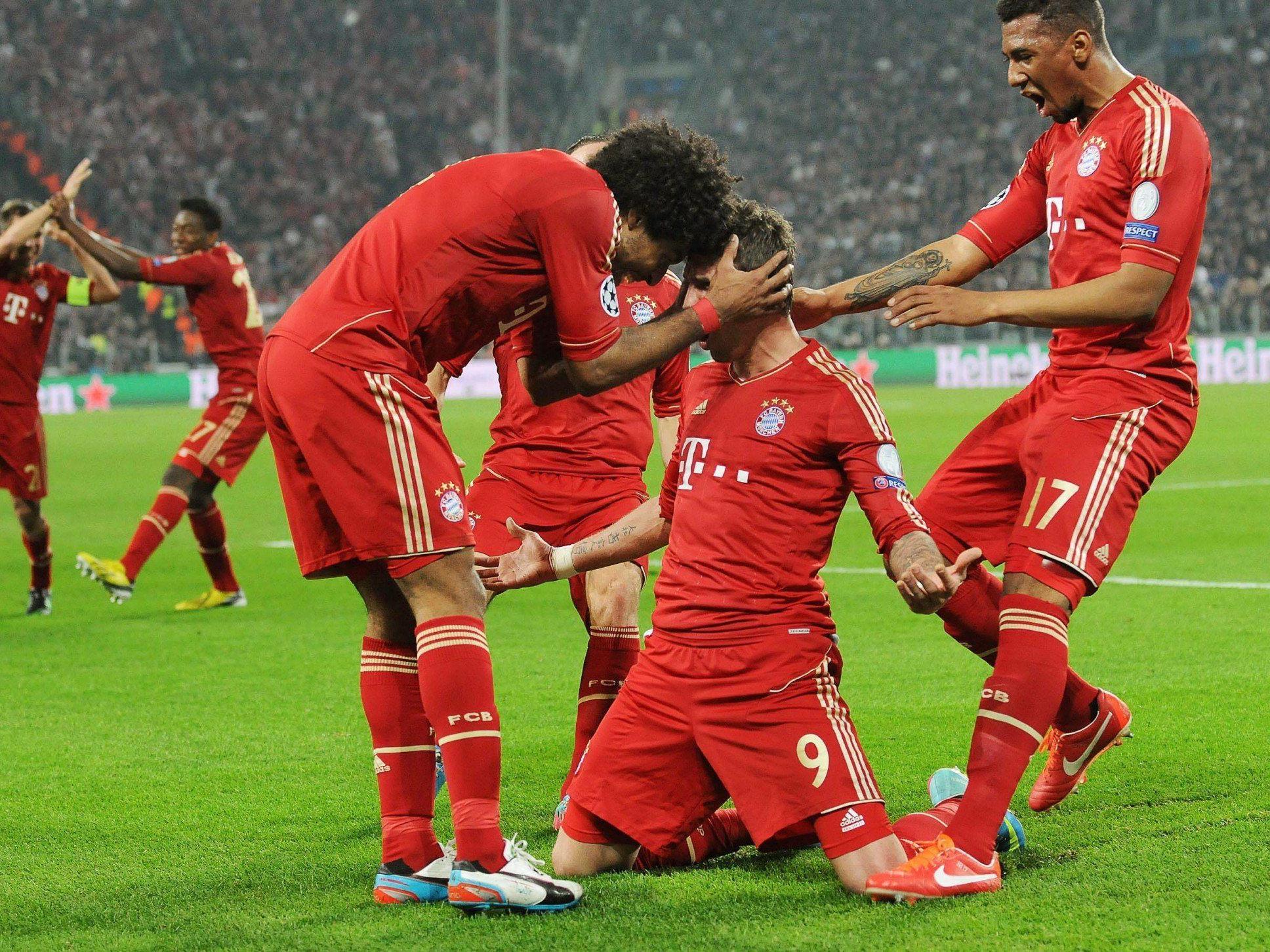 Bayern München und FC Barcelona komplettierten CL-Halbfinale.