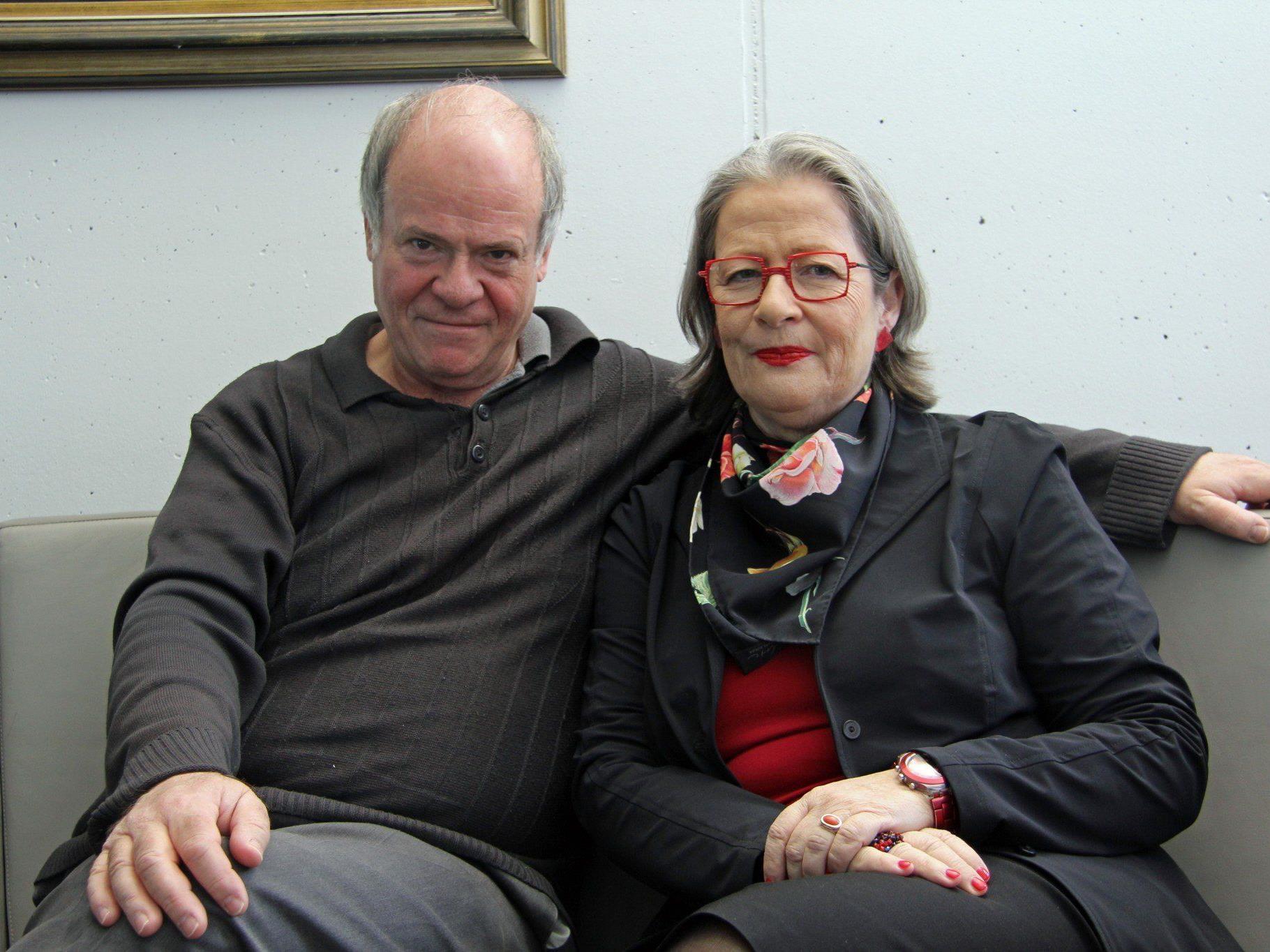 Susanne Scholl und Michael Genner sind heute Abend zu Gast im Theater Kosmus.