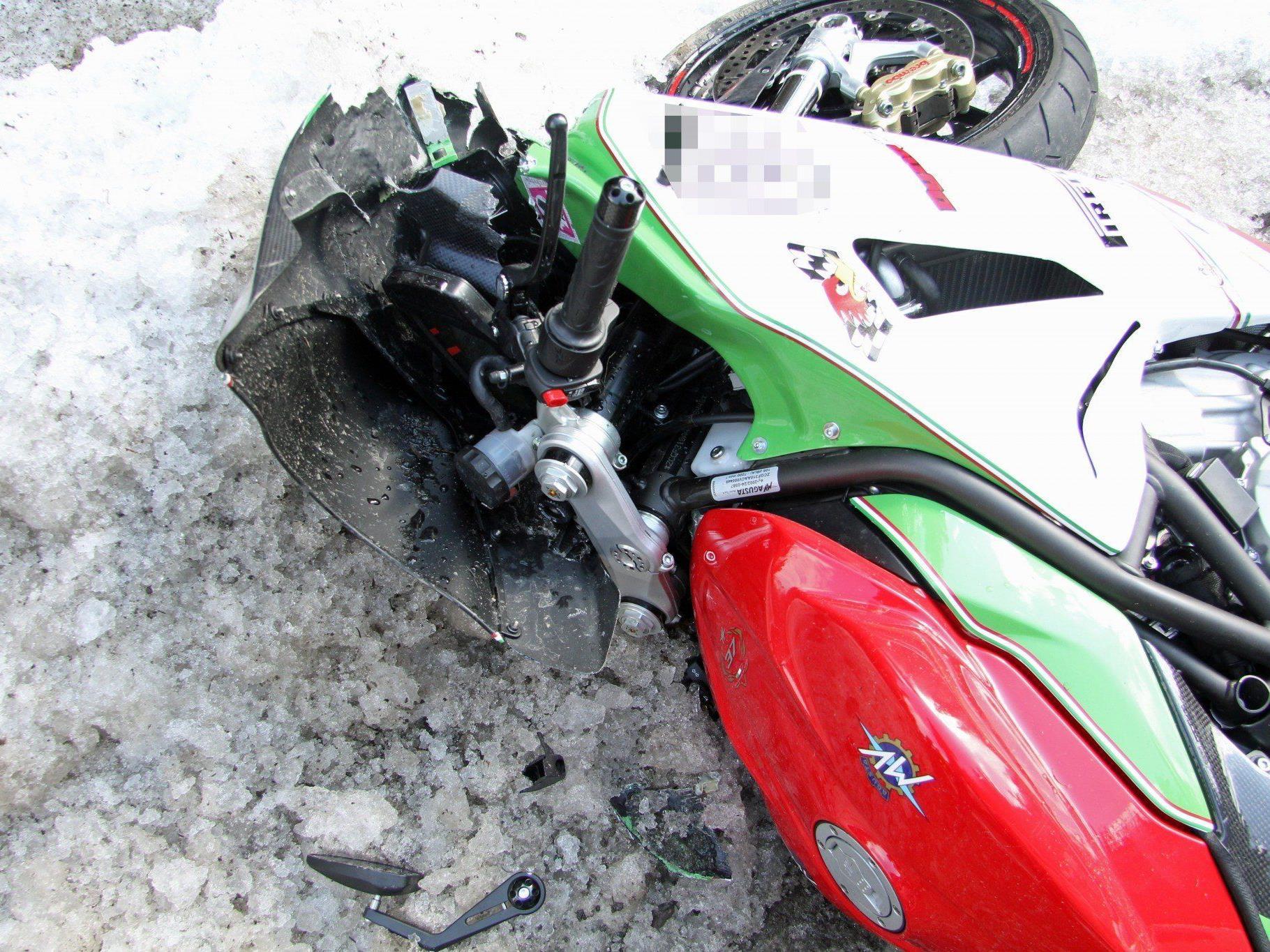Unfall am Donnerstagmittag auf der Bödelestraße in Dornbirn